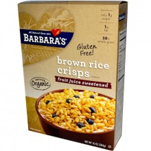 Barbara's Bakery Brown Rice Crisp Fjs (6x10OZ )