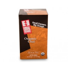 Equal Exchange Black Chai (6x20 Bag)