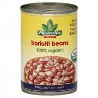 Bioitalia Borlotti Beans (12x14OZ )