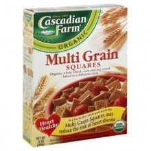 Cascadian Farm Multi Grain Sqrs (10x12.3OZ )