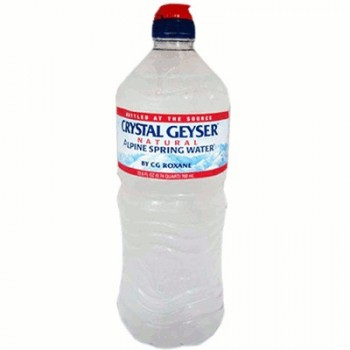 Crystal Geyser Alpine Sprng Water Sprt (24x700ML )