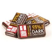 Equal Exchange DkChocolate Min Bar Ds (150x0.15OZ )