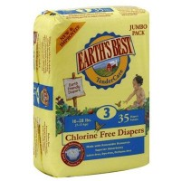 Earth's Best Tendercare Diapers Size 3 (4x35 CT)