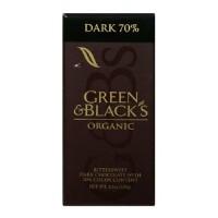 Green & Black Dark Choc 70% (10x3.5 Oz)