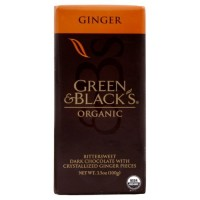 Green & Black Dark Chocolate With Ginger (10x3.5 Oz)