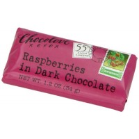 Chocolove Dark Chocolate Raspberry Mini Bar (12x1.2 Oz)
