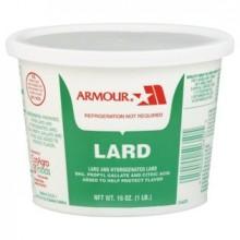 Armour Lard Tubs (24x1LB )