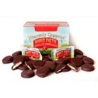 Heavenly Organics Raw Honey Pomegranate Chocolate Pattie (1/40 CT)