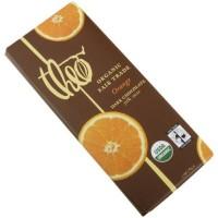 Theo Chocolate Dark Chocolate Bar With Orange (12x3Oz)