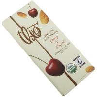 Theo Chocolate Dark Chocolate Cherry & Almond Bar (12x3Oz)