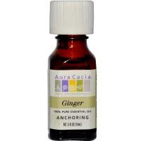 Aura Cacia Ginger Essential Oil (1x0.5OZ )
