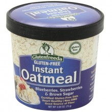 Glutenfreeda Foods Oatmeal Cup Blu/Str (12x2.64OZ )