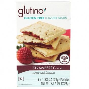 Glutino Toaster Pastry Straw (6x9.17OZ )