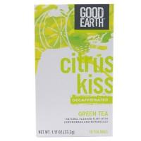 Good Earth Teas Decaf Citrus Kiss with Lemongrass Green Tea (6x18 CT)