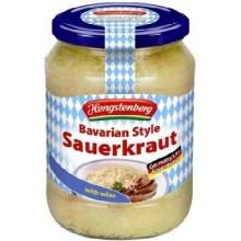 Hengstenberg Bav Sauerkraut/Wine (12x24.3OZ )