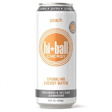 Hi*Ball Peach Sprklng Water (12x16OZ )