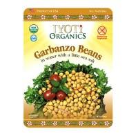 Jyoti Organics Garbanzo Beans (6x10OZ )