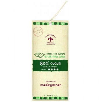 Madecasse Eating Br 80% Cocoa (12x2.64OZ )