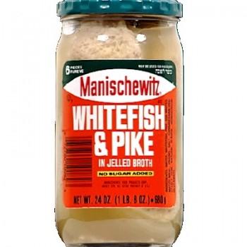 Manischewitz White & Pike Jelld (12x24OZ )