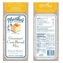 Martha's Gourmet Corn Brd (6x14OZ )