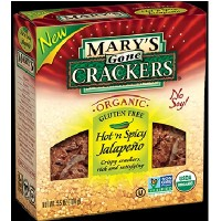 Mary's Gone Crackers Jalep Crackers (12x5.5OZ )