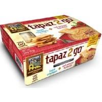 Mediterranean Snack Food Tapaz Red Pepper Hummus (6x3.6OZ )