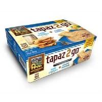Mediterranean Snack Food Tapaz Classic Hummus (6x3.6OZ )