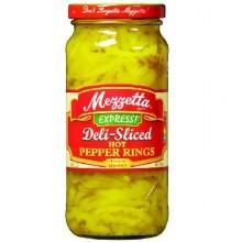 Mezzetta Hot Pepper RingSliced (6x16OZ )