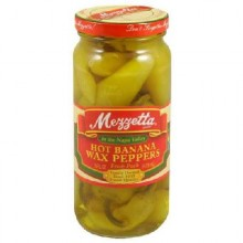 Mezzetta Hot Banana Wxd Pprs (6x16OZ )