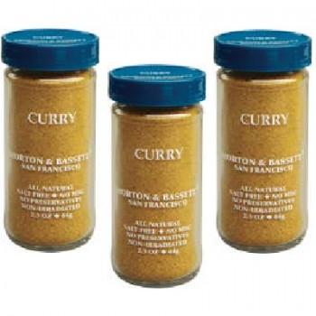 Morton & Bassett Curry (3x2.1OZ )