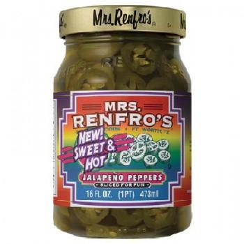 Mrs Renfro's Sweet HotSliced Pepper (6x16OZ )