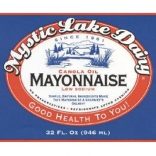 Mystic Lake Mayonnaise (12x32OZ )
