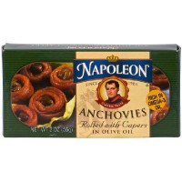 Napoleon Co. Anchovies Rolled (1x2OZ )