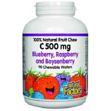Natural Factors Berry Chew Vit C (1x90TAB )