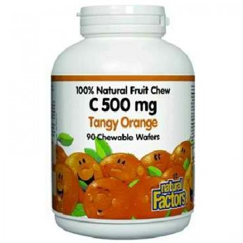 Natural Factors Tngy Ornge Vit C (1x90TAB )