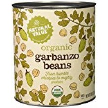 Natural Value Garbanzo Beans (6x108OZ )