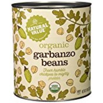 Natural Value Garbanzo Beans (6x108OZ )