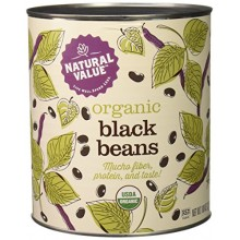 Natural Value Black Beans (6x108OZ )