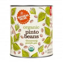 Natural Value Pinto Beans (6x108OZ )