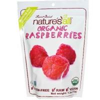 Nature's All Foods Frz Drd Raspberry (12x1.3OZ )