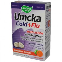 Nature's Way Orange Umcka C+F Chewbl (1x20TAB )