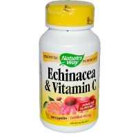 Nature's Way Echinacea & Vitamin C (1x100CAP )