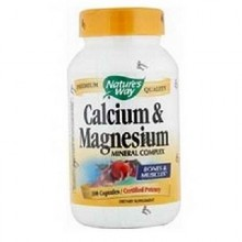 Nature's Way Calcium/Mag 500/250 (1x100CAP )