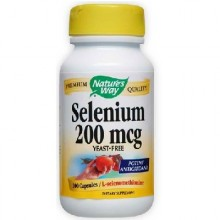 Nature's Way Selenium 200 Mcg (1x100CAP )