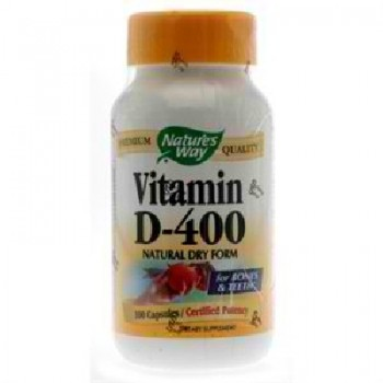 Nature's Way Dry Vit D 400 Iu (1x100CAP )