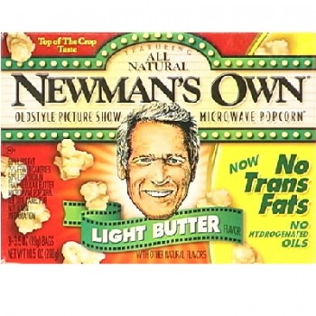 Newman's Own Lt Butter Ppcr Micro (12x3PK )