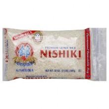 Nishiki Med Grain Rice (12x2LB )