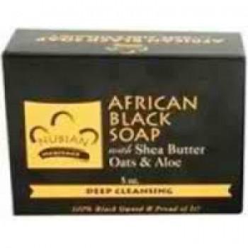 Nubian Heritage African Black Soap (1x5OZ )