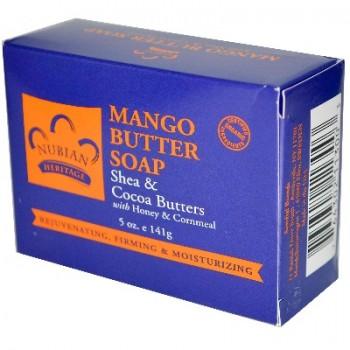 Nubian Heritage Mango Butter Soap (1x5OZ )