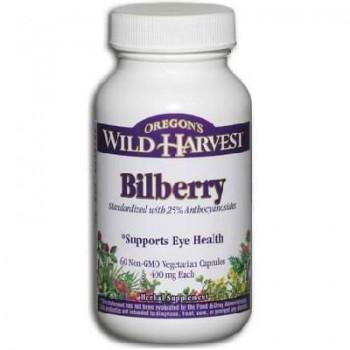 Oregon's Wild Harvest Bilberry (1x60VCAP)
